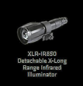 XLR long range IR lygte (850nm)